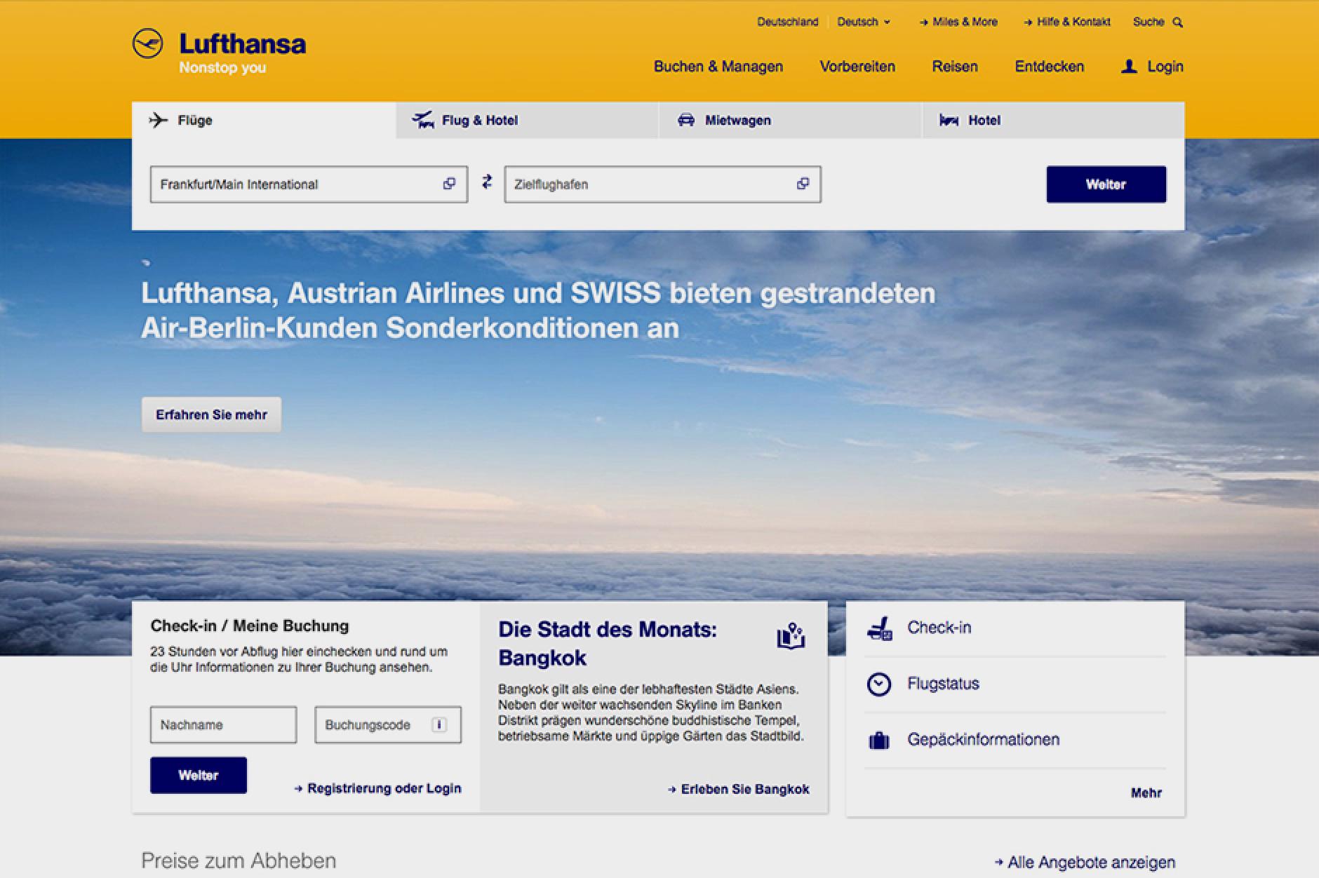 Lufthansa-Vorschau